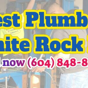 Best Rated Commercial Plumbing White Rock Drain Cleaning Special