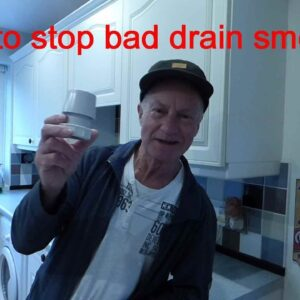 How to stop drain smells