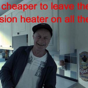Is it cheaper to leave the immersion heater switched on ?