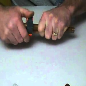 How to use mini copper cutter above the rest.Plumbing Tips!