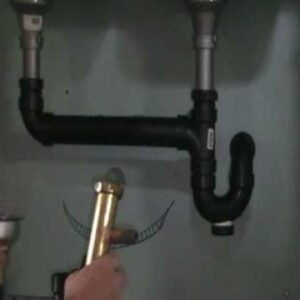 Old plumber shows how to Install a dishwasher drain under your sink.