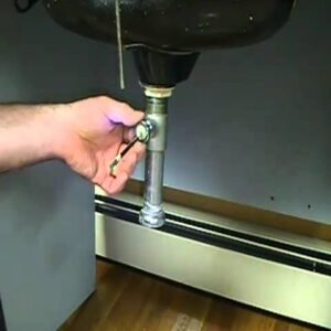 Tip for unplugging basin with mechanical drain...How to