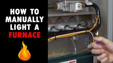 Gas Furnace Wont Ignite - How to Manually Light Burners