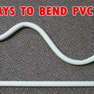 How to Bend PVC Pipe With No Tools