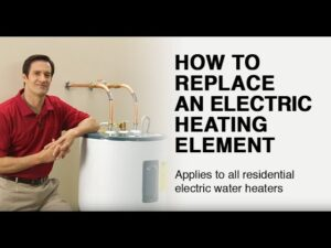 How to Replace an Electric Water Heater Heating Element
