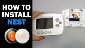 How to Replace HVAC Thermostat (How to Install Nest Thermostat)
