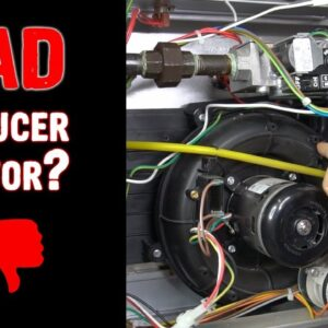Inducer Motor Not Coming On - How to Check It