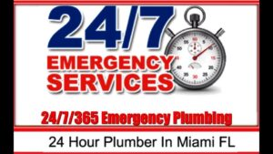The Best 24 Hour Emergency Plumber Miami   The Most Affordable Plumbing Service 24 Hrs Daily