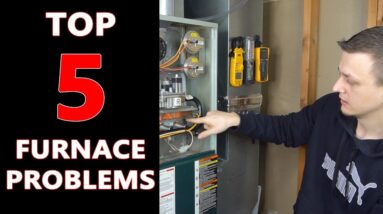 Top 5 Furnace Problems and How to Fix Them