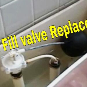 1 Toilet Fill valve Replacement | How To Plumbing