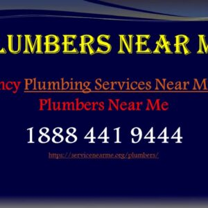 Emergency Plumbing Services Near Me | Local Plumbers Near Me