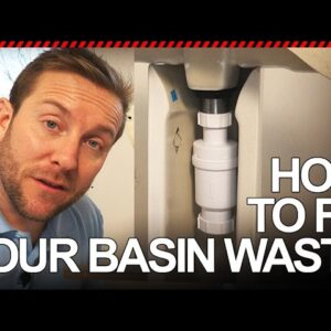 HOW TO FIT BASIN WASTE VALVE - Plumbing Tips