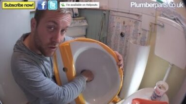 HOW TO REPLACE OR INSTALL A WASH BASIN - Plumbing Tips and Job report