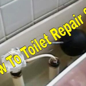 How To Toilet Repair 8/8 | How To Plumbing