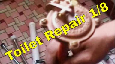 Toilet Repair 1/8 | How To Plumbing
