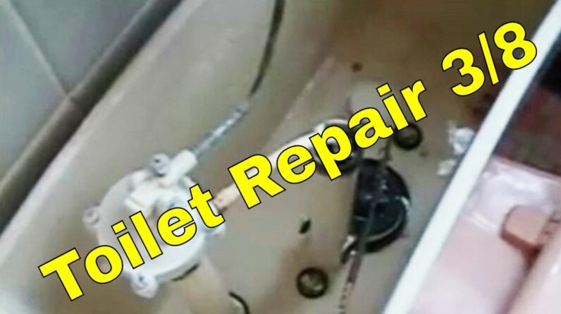 Toilet Repair 3/8 | How To Plumbing