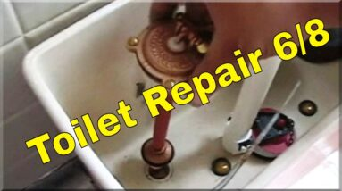Toilet Repair 6/8 | How To Plumbing