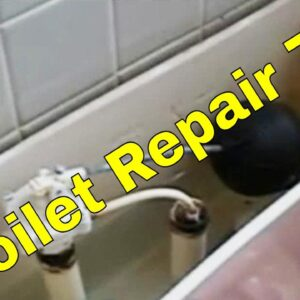 Toilet Repair 7/8 | How To Plumbing